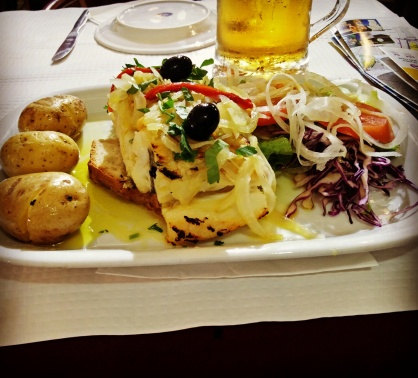 Cud Fish Meal - Lisbon, Portugal