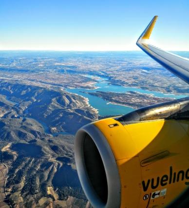 Flight from Barcelona to Madrid