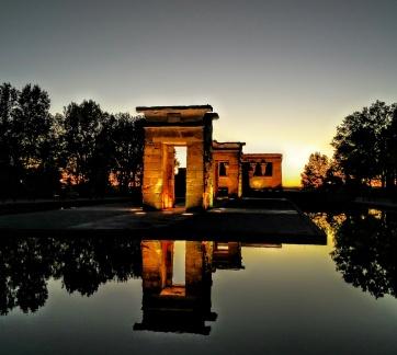 Temple of Debod - Madrid, Spain