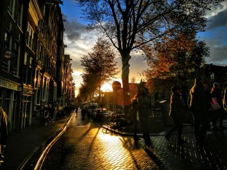 Sunset - Amsterdam, Netherland