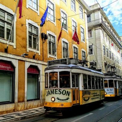 Tram - Lisbon, Portugal