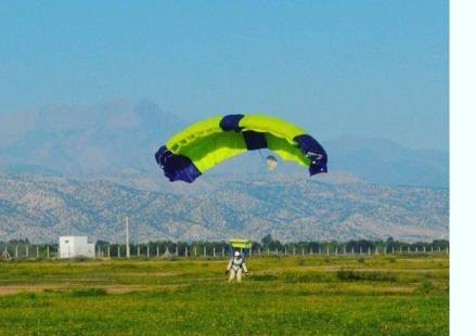 Landing Safely - Skydiving in Morocco