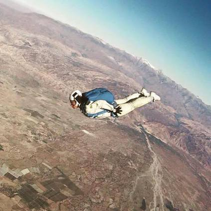 Skydiving in Morocco